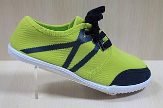Кеды для подростков на девочку мокасины спортивная текстильная обувь р.31,32, фото 3
