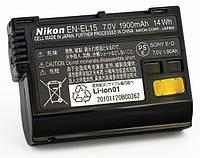 Оригинал Nikon En-El15 1900mAh. Аккумулятор для Nikon 1 V1, D7000, D800, D600 [Nikon (оригинал)]
