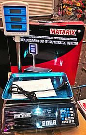 Весы торговые со стойкой MATRIX 50 кг