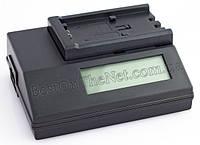 Зарядное устройство для Sony с LCD-дисплеем для аккумуляторов P, H, V, F, M, Q серии