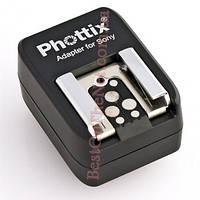 Фирменный аналог Sony FA-HS1AM (Phottix Sony Hot Shoe Adapter). Адаптер под горячий башмак для Sony