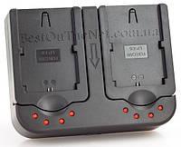 Двойное Зарядное устройство EZO Power Dual для Canon LP-E6 (Canon 7D, 60D, 5D Mark II / III)