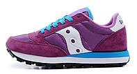 Женские кроссовки Saucony Jazz Саукони фиолетовые