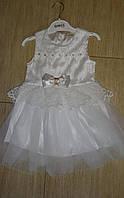 Нарядное платье для самых маленьких