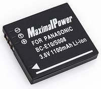Аналог Panasonic CGA-S008 (MaximalPower 1100mAh). Аккумулятор для Panasonic DMC-FS5, FS20, FX35, FX55, FX520 и др.