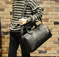 Мужская кожаная сумка. Модель - 2163, фото 6