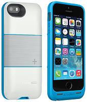 Аккумуляторный чехол Logitech Protection+ для iPhone 5/5S на 1800mAh [Белый]