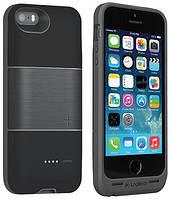 Аккумуляторный чехол Logitech Protection+ для iPhone 5/5S на 1800mAh [Черный]