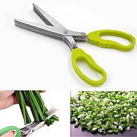 Ножницы для зелени HOME MARK с щеточкой