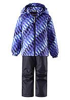 Демисезонный  комплект (ветровка + штаны)  для мальчика Lassie by Reima 723702 - 6691. Размер  104 - 128.