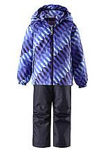 Демисезонный  комплект (ветровка + штаны) для мальчика Lassie by Reima 723702 - 6691. Размеры  116 - 128.