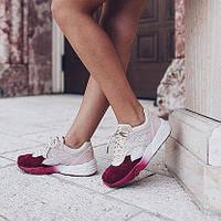 Женские+подростковые кроссовки Puma Sakura замша