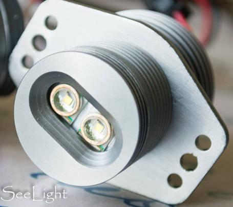 Светодиодные лампы (ангельские глаза) BMW 20W  1000 LUMEN, фото 2