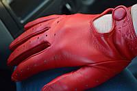 Перчатки водительские кожа Италия, фото 1