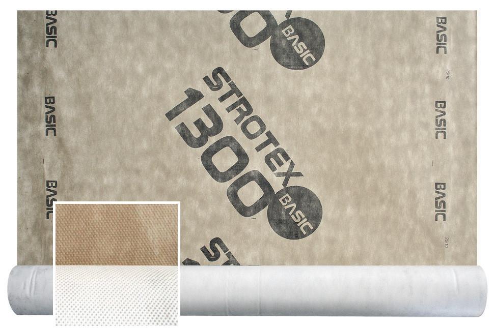 Супердифузійна мембрана Strotex 1300 Basic ( кровельная супердиффузионная мембрана стротекс  для кровли )