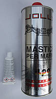 Клей-мастика жидкая для кварцита, гранита, мрамора, искусственного камня JOLLY GOLD 1 kg Италия