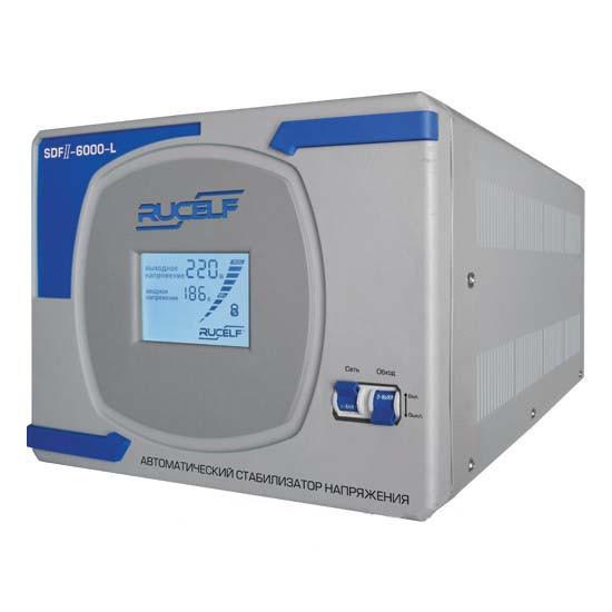 Стабілізатор напруги однофазний RUCELF SDF-II-6000-L