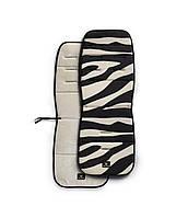 Мягкая вкладка в коляску Матрас Stockholm цвета Zebra Sunshine - Elodie Detail (Швеция)