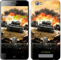 "Чехол на ZTE A610 World of tanks v1 ""834u-433"""