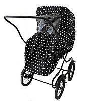 Чехол от дождя для прогулочной коляски Дождевик цвет Dot - Elodie Detail (Швеция)