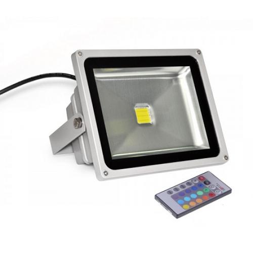 Светодиодный прожектор 50W RGB LEDEX