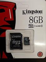 Карта памяти 8 gb class 10, Kingston