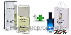 Chanel Egoiste Platinum 100 ml + подарочный набор Chanel Egoiste Platinum 50 ml