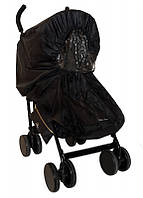 Чехол от дождя для прогулочной коляски Дождевик цвет Black - Elodie Detail (Швеция)