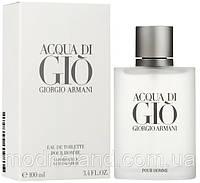 Мужская туалетная вода Armani Acqua di Gio Pour Homme 100 ml (Армани Аква ди Джио Пур Хом)