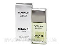 Мужская туалетная вода Chanel Egoiste Platinum 100 ml (Шанель Эгоист Платинум)