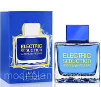 Мужская туалетная вода Antonio Banderas Electric Seduction Blue 100 ml (Антонио Бандерас Электрик )