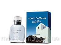 Мужская туалетная вода Dolce Gabbana Light Blue Living Stromboli 125 ml ( Лайт Блу Ливин Стромболи)