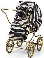 Чехол от дождя для прогулочной коляски Дождевик цвет Zebra Sunshine - Elodie Detail (Швеция)