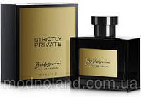 Мужская парфюмированная вода Baldessarini Strictly Private 90 ml (Балдессарини Стриктли Приват)