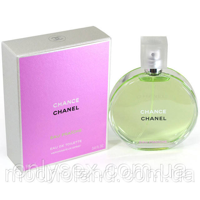 Женская туалетная вода Chanel Chance Eau Fraiche 100 ml (Шанель Шанс Фреш)  - onlysex 33cc9db6f4783