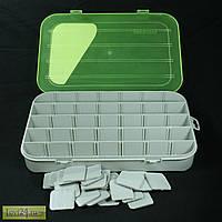 Коробка 35 ячеек со съемными перегородками Aquatech 7035 (30 см x20 см x4.5 см)