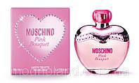 Женская туалетная вода Moschino Pink Bouquet 100 ml (Москино Пинк Букет)