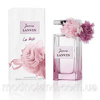 Женская парфюмированная вода Lanvin Jeanne La Rose 100ml (Ланвин Ла Роза)