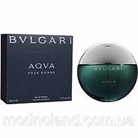 Мужская туалетная вода Bvlgari Aqua Pour Homme 100 ml (Булгари Аква Пур Хом)