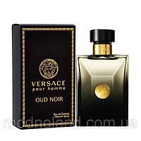 Мужская парфюмированная вода Versace Pour Homme Oud Noir 100ml (Версаче Пур Хом Oуд Нуар)