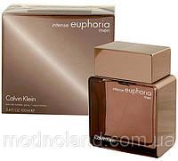 Мужская туалетная вода Calvin Klein Euphoria Men Intense 100 ml (Кельвин Кляйн Эйфория Мэн Интенс)