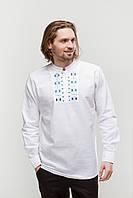 Рубашка мужская Радан голубая, фото 1