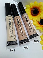 333 Консилер L.A. Girl Pro Conceal HD Concealer тюбик НАТУРАЛЬНЫЕ ПОШТУЧНО  № 1,2,3