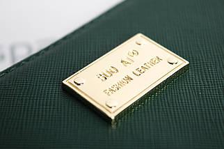 Кошелёк женский SuoAi Fashion Leather, тёмно-зелёный, фото 3