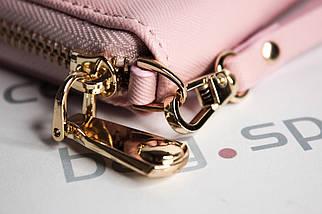 Кошелёк женский SuoAi Fashion Leather, розовый (пудровый), фото 2