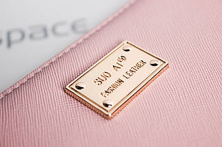 Кошелёк женский SuoAi Fashion Leather, розовый (пудровый), фото 3