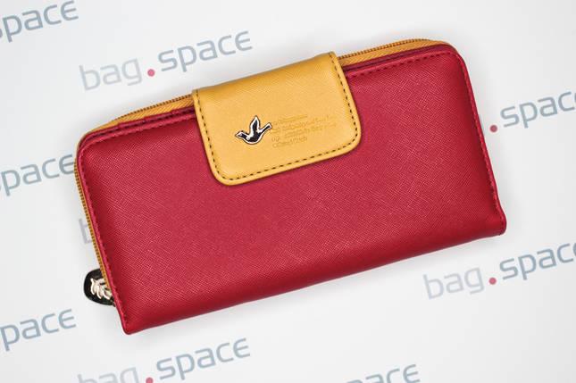 Кошелёк женский Cheer Little Bird, красный, фото 2