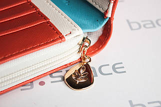 Кошелёк женский Cheer Little Bird, оранжевый, фото 3