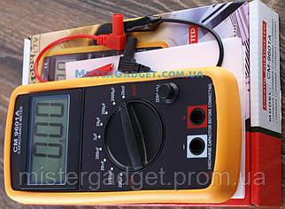 Мультиметр цифровой DT 9601 20А, Тестер DT-9601A