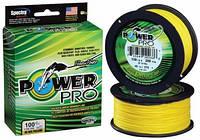 Плетенка Power Pro 135м Yellow